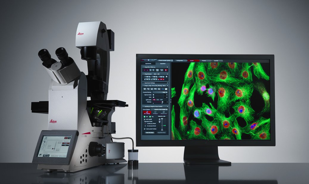 [Translate to chinese:] Leica DMi8 Fluorescence Microscope