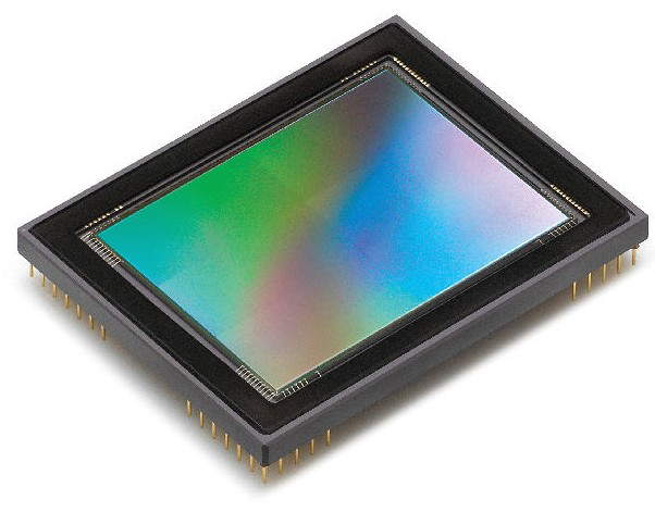 5 Megapixel CCD Bayer Array RGB