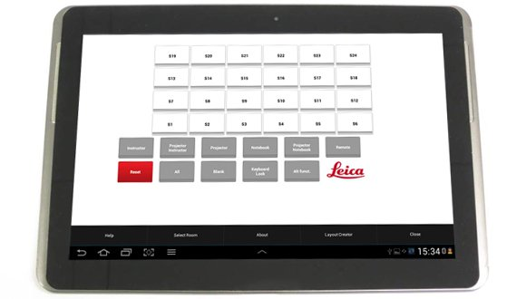 Wireless Tablet Control