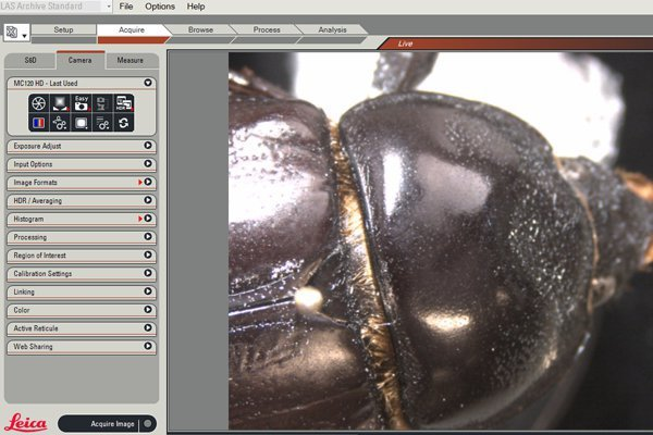High-Performance Microscope Software for all Documentation Requirements